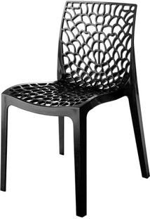 Cadeira Gruvyer Polipropileno Cor Chumbo - 31629 - Sun House