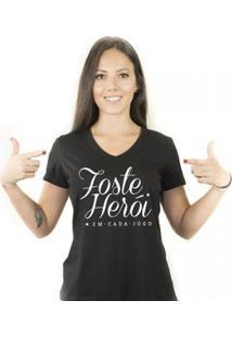 Camiseta Zé Carretilha Bot Fogao Heroi Feminina - Feminino