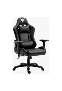 Cadeira Gamer Raven X-10, Estrutura Em Metal, Braco 4D, Encosto Reclinavel Ate 180 Preta