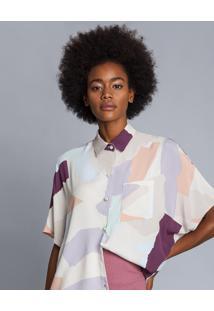 Camisa Oversized Estampa Arts - Lez A Lez