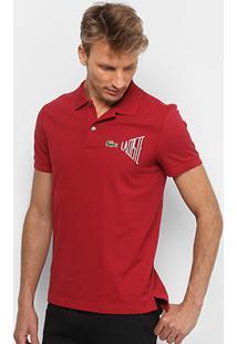 Camisa Polo Lacoste Clássica Masculina - Masculino