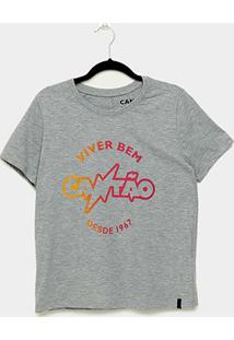 Camiseta T-Shirt Cantão Degrade Classic Carn Feminina - Feminino