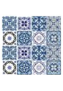 Adesivo De Azulejo - Ladrilho Hidráulico - 385Azge