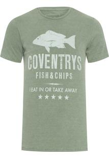 Camiseta Masculina Coventrys - Verde