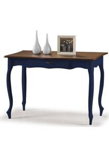 Aparador Elegance Azul Petroelo Pes Luiz Xv 115Cm - 59867 - Sun House