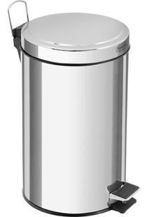 Lixeira Tramontina Com Pedal Inox 20L - 29852
