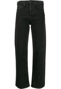 Rag & Bone Calça Jeans Reta - Preto