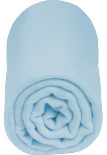 Cobertor Incomfral Algodão 90 X 1,10Cm Azul