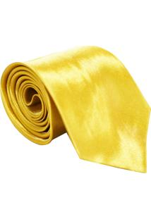 Gravata Unyforme Tradicional Amarela