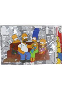 Jogo Americano Zona Criativa Família Simpsons Multicolorido