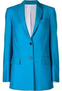 Calvin Klein 205W39Nyc Blazer Longline - Azul