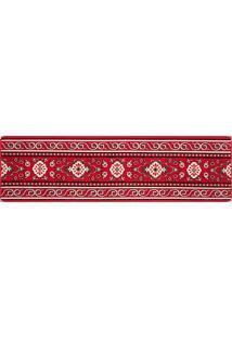 Passadeira Andino Pa13 0.66X2.30 - Lancer - Vermelho