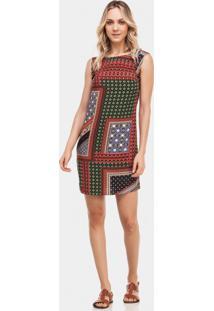 Vestido Amplo Estampado Marrakesh - Lez A Lez