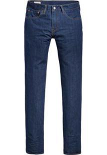 Calça Jeans Levi'S Slim Masculina - Masculino-Azul Escuro