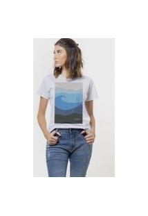 Camiseta Jay Jay Basica Ocean Preserve Branca Dtg