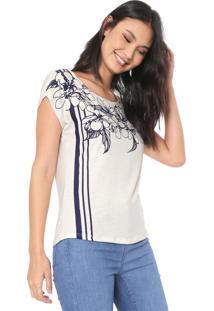 Blusa Mercatto Silk Off-White