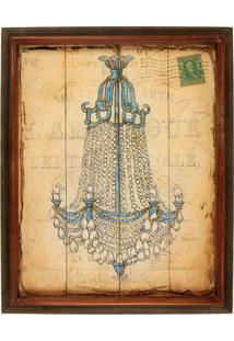 Quadro Decorativo De Parede Shine Com Moldura