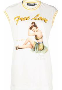 Dolce & Gabbana Regata Free Love - Branco