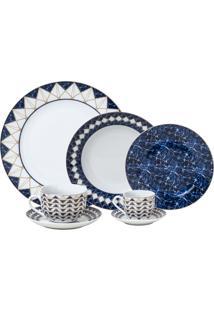 Aparelho De Jantar De Porcelana Doha Wolff – 42 Peças