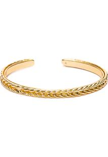 Bracelete Gradus Em Metal - Ouro