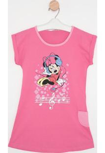 "Camisola ""Minnie®"" - Rosa & Azullupo"