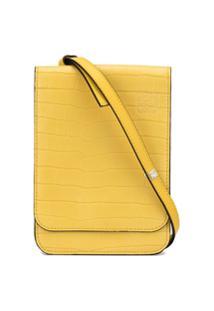 Loewe Bolsa Tiracolo Com Parte Superior Dobrável - Amarelo