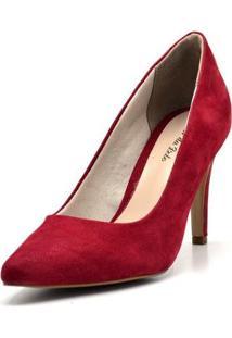 Scarpin Dududias10 - Feminino-Vermelho
