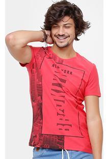 Camiseta Kohmar Nyc Masculina - Masculino