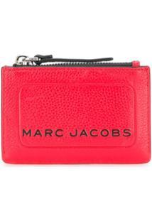 Marc Jacobs Porta-Moedas Com Estampa De Logo - Vermelho