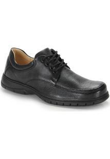 Sapato Conforto Masculino Anatomic Gel - Preto