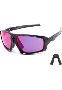 Óculos De Sol Oakley Field Jacket Preto/Cinza