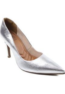 Sapato Bebece Scarpin Metalizado
