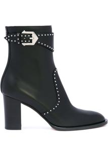 Givenchy Studded Ankle Boots - Preto