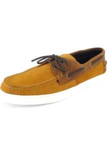 Sapato Ame + Um Dockside Casual Caramelo