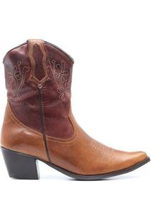 Bota Elite Country Dallas Fossil Feminina - Feminino