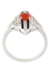 V Jewellery Anel 'Scarlett' - Metálico