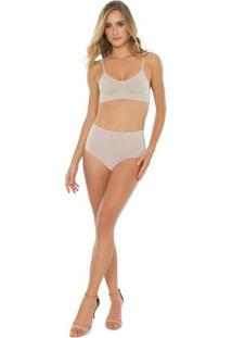 Calcinha Super Conforto - Feminino-Nude