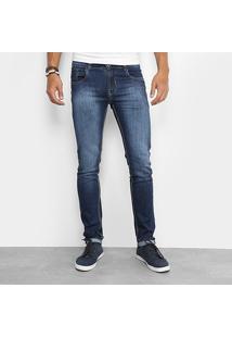 Calça Jeans Skinny Sawary Skinny Elastano Masculina - Masculino