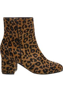 Bota Block Heel Animal Print | Schutz
