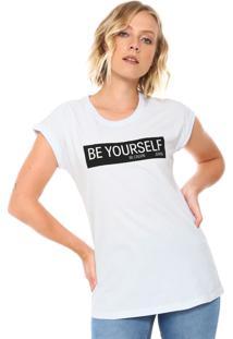 244ff7213 R$ 84,99. Dafiti Camiseta Calvin Klein Jeans Be Yourself Branca