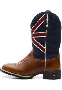 7e7a538363 ... Bota Texana Azul England Flag