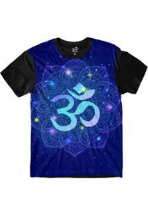 Camiseta Long Beach Ohm Mandala Florida Sublimada Masculina - Masculino