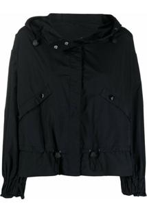 Moncler Albireo Hooded Jacket - Preto