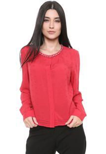 Camisa Ellus Constellation Vermelha
