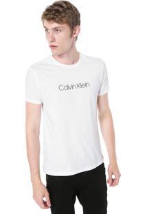 Camiseta Calvin Klein Básica Branca