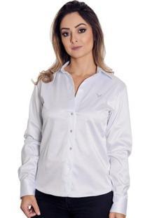 Camisa Pimenta Rosada Gabrielle - Feminino-Branco
