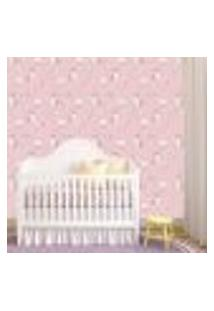 Papel De Parede Adesivo - Unicórnio Baby Bebe - 321Ppb