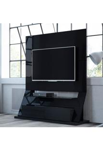 Estante Para Home Theater Fit Preto
