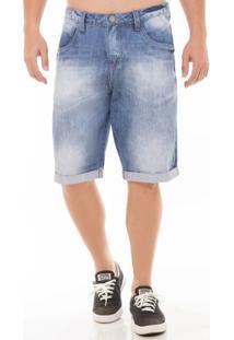 Bermuda Jeans Mid Drop Eventual Masculina - Masculino
