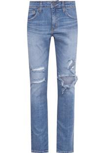 Calça Masculina Skinny Nassau - Azul